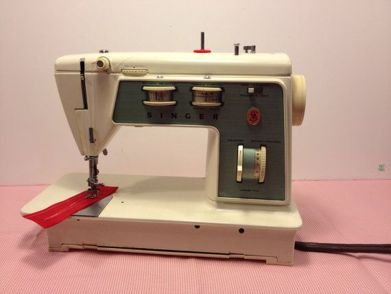 Vintage Singer Sewing Machine Model 40 Business Lil' Alice Etsy Awesome Singer 447 Sewing Machine