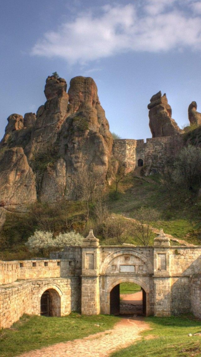 Belogradchik, Bulgaria amazing rock resort at western Bulgaria.