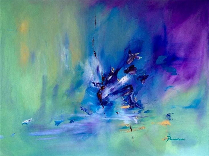 Bluebird by Sarah Parsons | $1,975 | oil painting | 30' h x 40' w | http://www.ugallery.com/oil-pain...