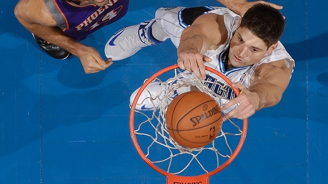 Congrats to Nikola Vucevic for being named to the 2013 BBVA Rising Stars Challenge during All-Star Weekend