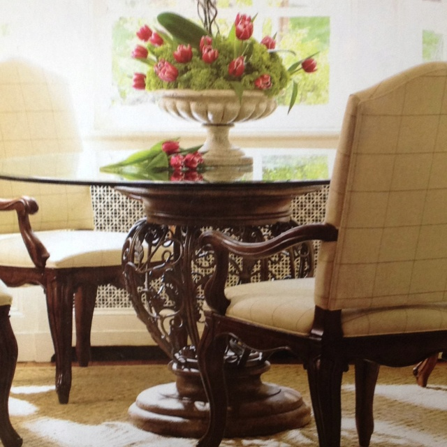 Drexel Heritage Magazine. I Want This Table!