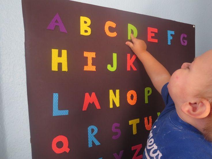 Sensory, Tactile Alphabet Poster » My Mundane and Miraculous Life