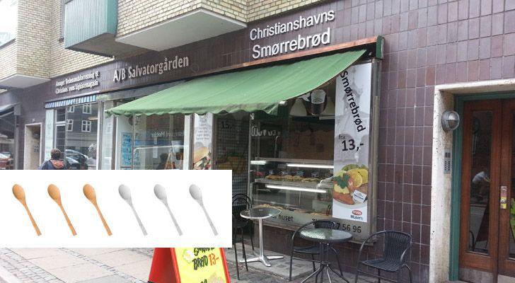Christianshavns Smørrebrød - En underlig størrelse #food #foodie #foodporn #foodreview
