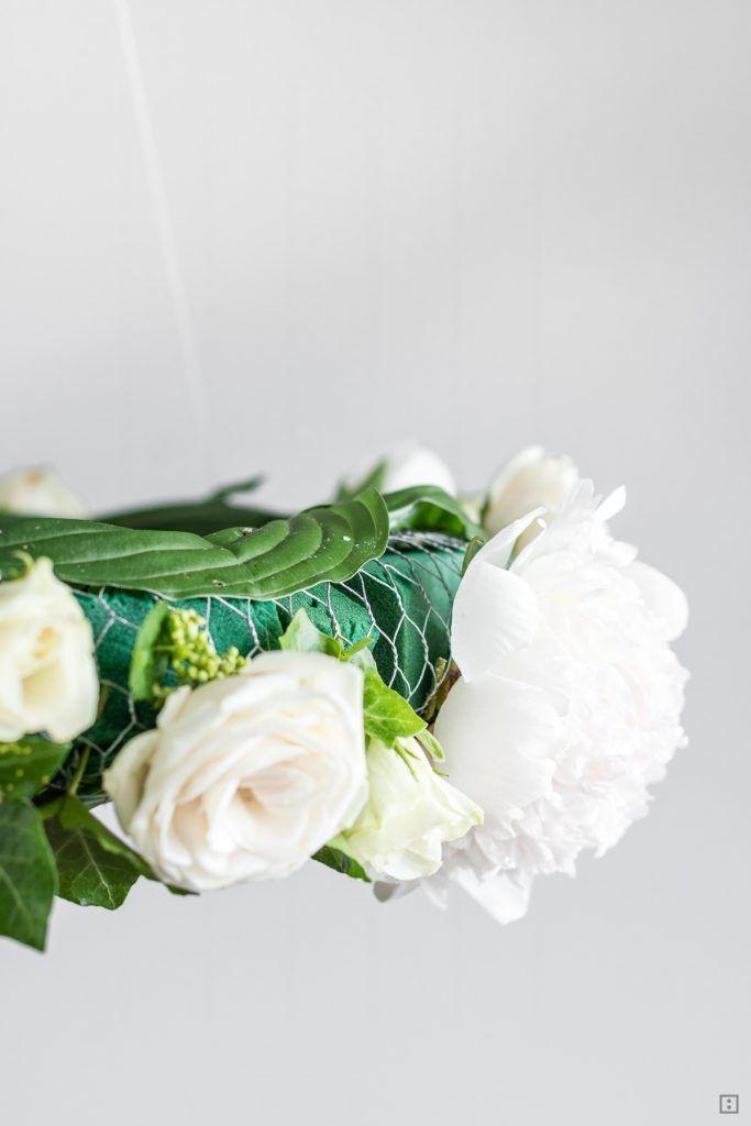 Tischdekoration Schwebender Blumenkranz Xxl Zwo Ste Pinterest