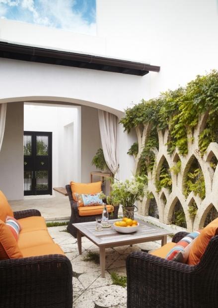 Яркий пляжный дом (Дизайн интерьера)