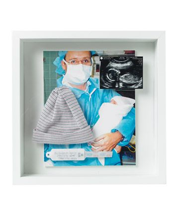 Father's Day idea or create for both in memory box frame