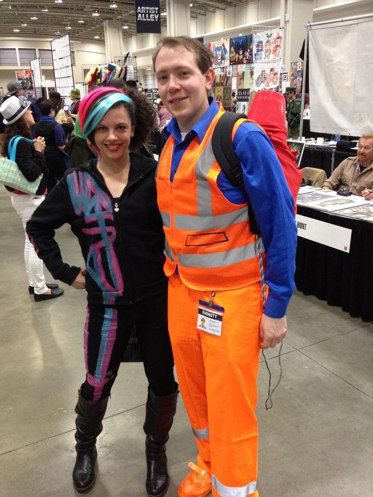 Wildstyle  Emmit from Lego movie costume idea Cosplay ideas - halloween costume ideas 2016 kids