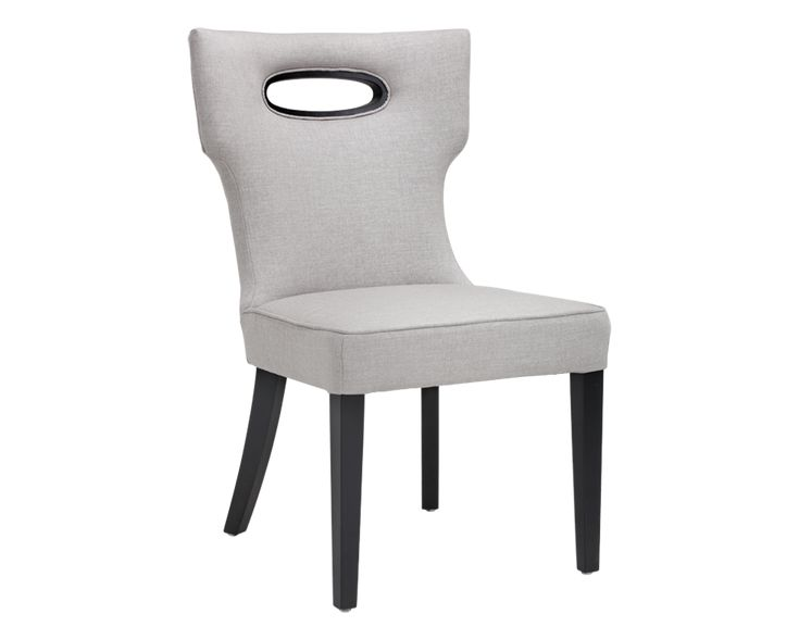 EMERSON DINING CHAIR - SILVER LINEN FABRIC - Dining Chairs - Dining - Products