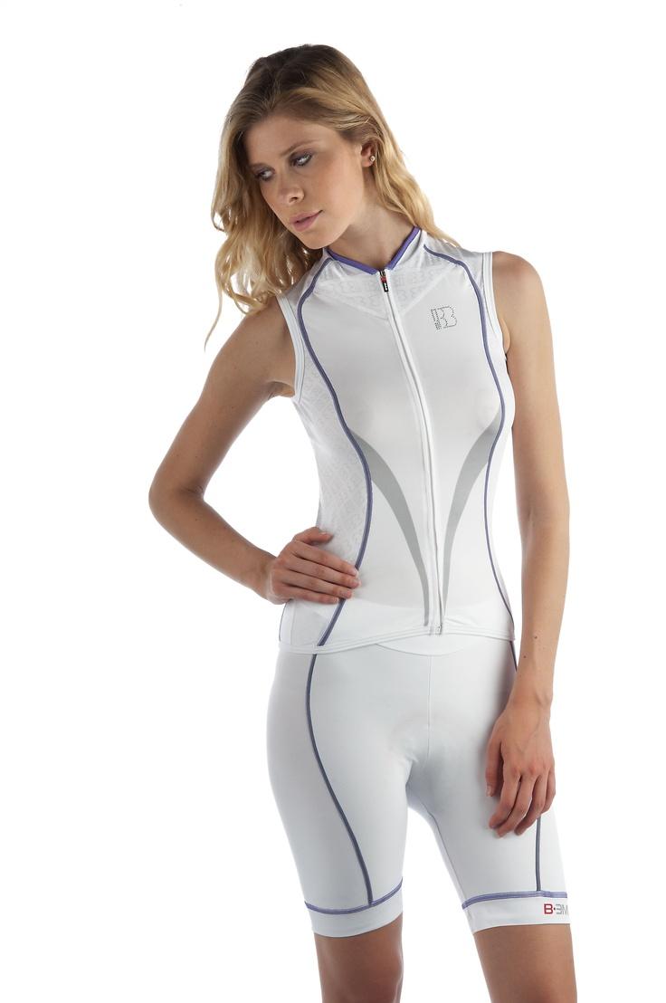 Biemme PURE ladies sleeveless cycling / bike jersey