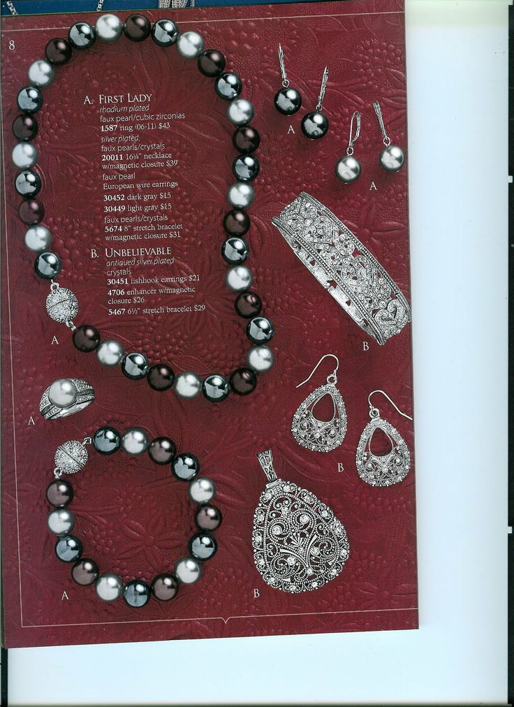 Premier  jewelry - Love every piece on this page! Just had a party...great quality