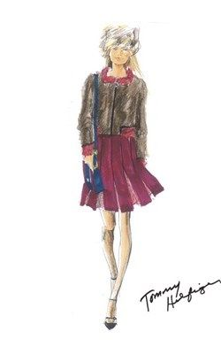 Sketches - Tommy Hilfiger Runway Show