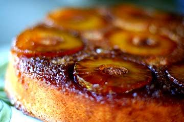 The best pineapple upside down cake recipe ever.  No kidding.  Caramel topping with pineapple rounds over a dense cake with almond flour.: Simplyrecipes With, Pineapple Cake, Almonds, Food, Upside Down Cakes, Almond Flour, Pineapple Upside Down Cake, Cake Recipes, Dessert