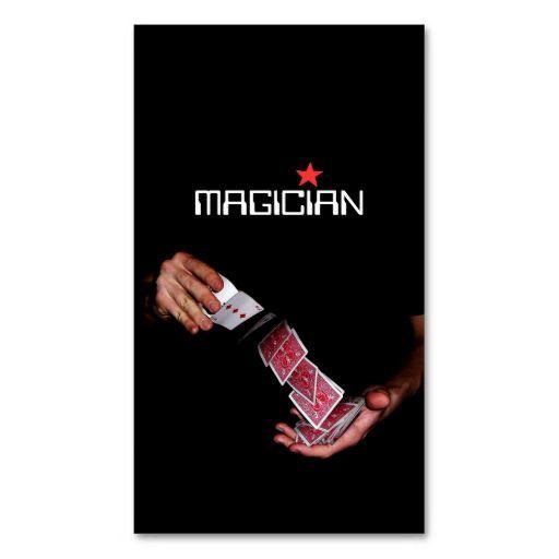 196 best images about magician business cards on pinterest. Black Bedroom Furniture Sets. Home Design Ideas