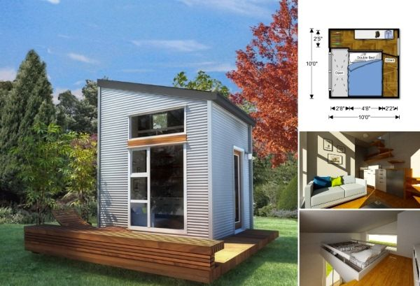 Pre fabricated micro liveable homes small space pinterest
