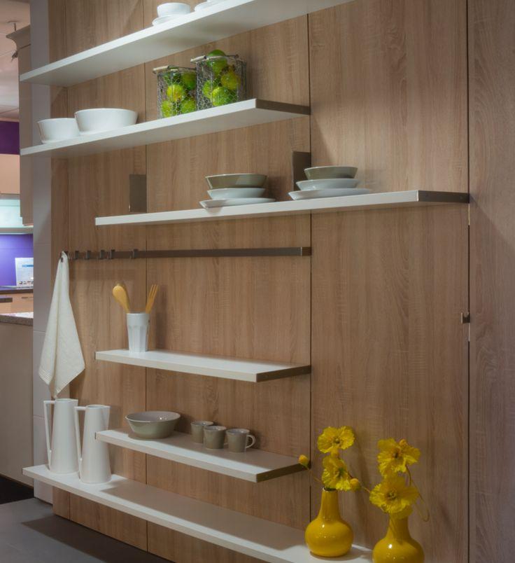 SieMatic S3 Floating spaces concept in showroom Van Wanrooij in Tiel.