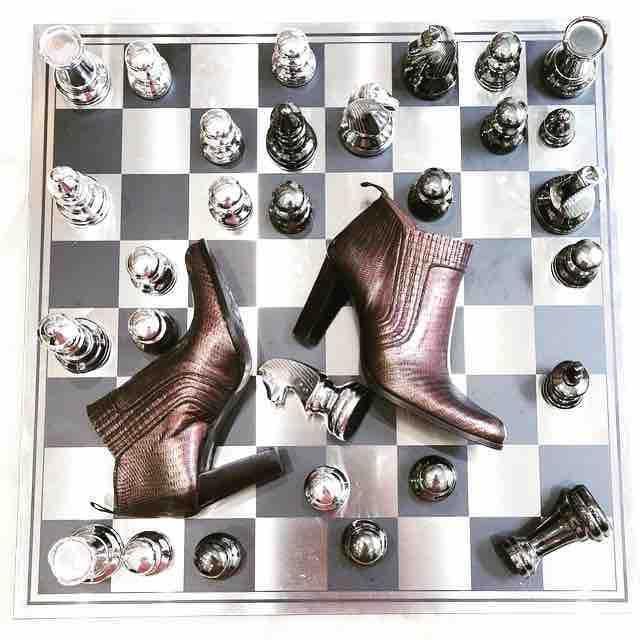 ECHEC ET MAT : Elles sont à vous sur le eshop de #murattiparis !  #alizee #fashion #instafashion #shoes #shoeslover #style #cinéma #movie #tagsforlikes #love #girl #girly #fashionista #fan #instashoes #newcollection #eshop #heels #loveheels #model #parisienne #décoration #interieur #décalé #murattifashion #murattiparis #playthegame #game #picoftheday Fiche produit : http://muratti-paris.com/fr/page/n2.html?search_query=alize
