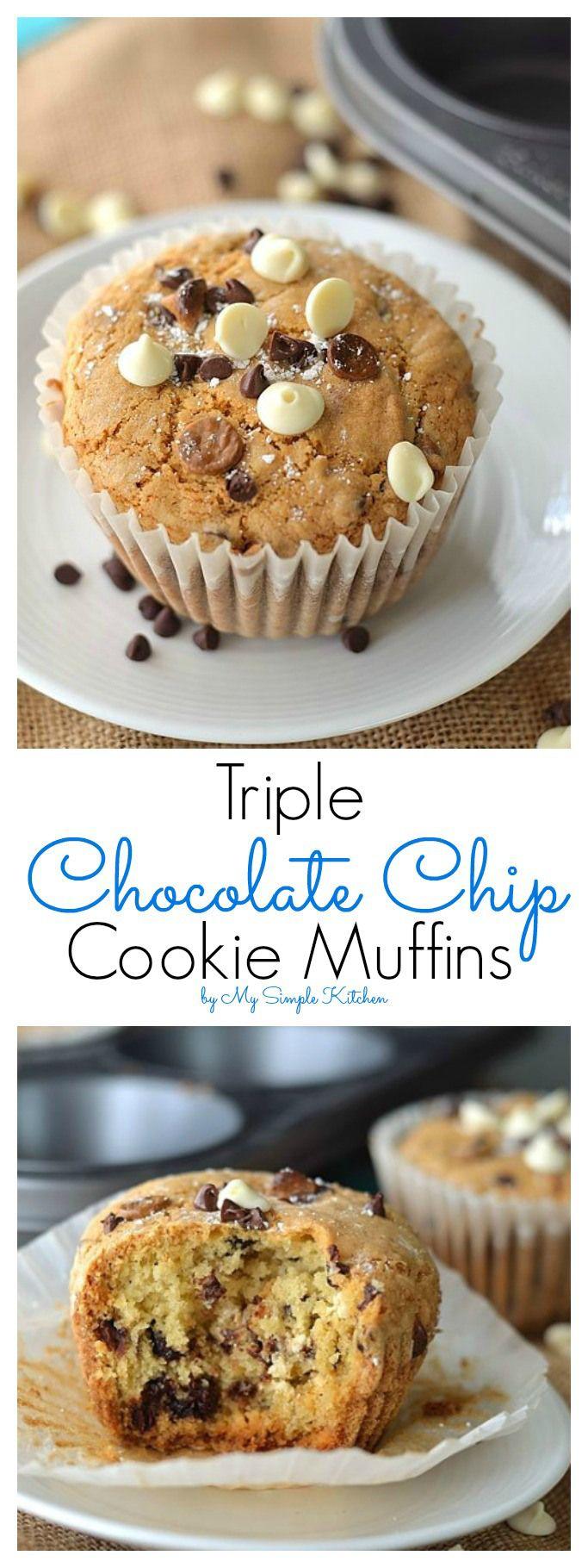 ... Pumpkin Spice Muffins, Chocolate Chip Muffins and Vegan Banana Muffins