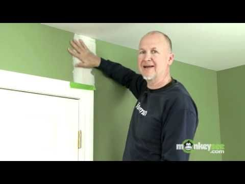 Handyman shows how to repair cracks in your wall. This is really nifty!