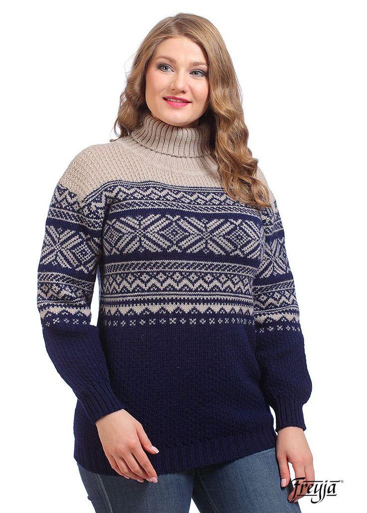 женский свитер шерсть купить