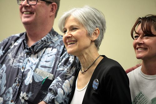 Berners could put Jill Stein in the debates