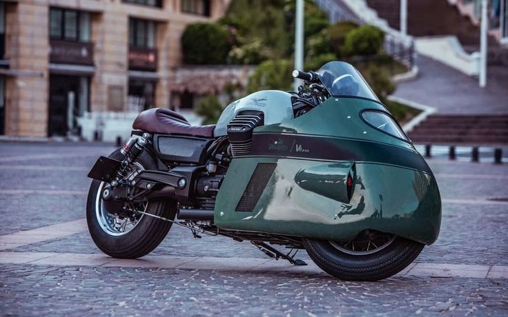 Moto Guzzi Eldorado 1400 Cafe Racer - Designed by Gannet Design - Built by Numbnut Motorcycles for Vanguard Clothing #motorcycles #caferacer #motos | caferacerpasion.com