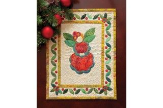 GO! Rosie the Christmas Angel Wall Hanging Pattern