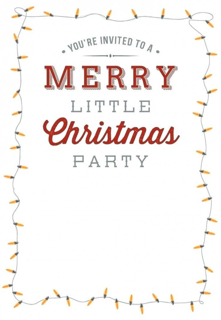 Free Christmas Templates For Photoshop Gaboweisco Christmas Party Invitation Template Christmas Party Invitations Free Party Invite Template