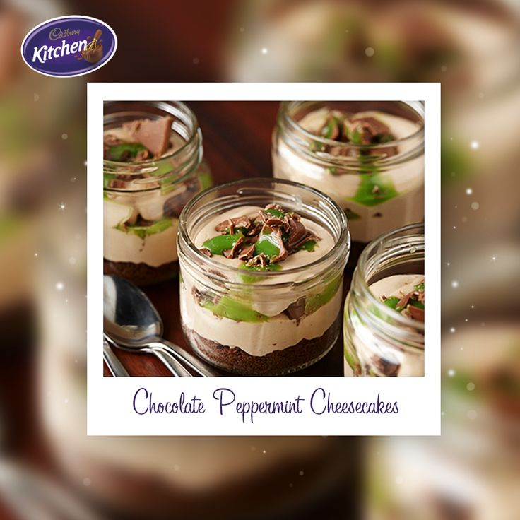 Some days it's just too warm to have the oven on! Luckily we can still look after our sweet tooths with one of these CADBURY Chocolate Peppermint Cheesecakes, easy to serve and no heat required!   #CADBURY #chocolate #cheesecake #summerdessert #sweettooth #easydessert