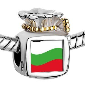 Pugster Two Tone Money Bag Bulgaria Flag photo Beads Fits Pandora Charm Chamilia Biagi Bracelet Pugster. $14.49. Metal: Two Tone. Weight (gram): 5.2. Size (mm): 9.46*8.73*12.41. Color: