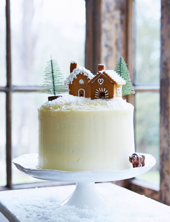 Gingerbread layer cake with maple icing | From Mima Sinclair this showstopper is a great addition to any christmas menu.: