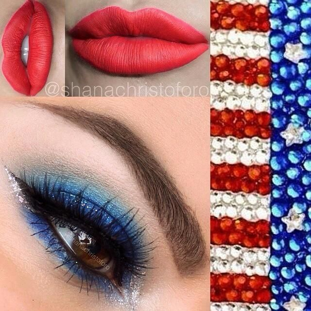 Happy Memorial Day! Thank you to all of our fallen heroes who fought for our freedom. beautiful red white and blue look from shanachristoforo