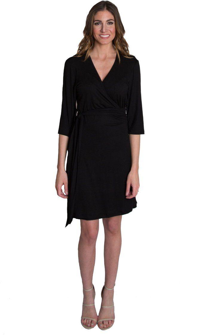 Whimsical Wrap Nursing Dress Black Nursing Dress Maternity Nursing Dress Stunning Dresses [ 1124 x 720 Pixel ]