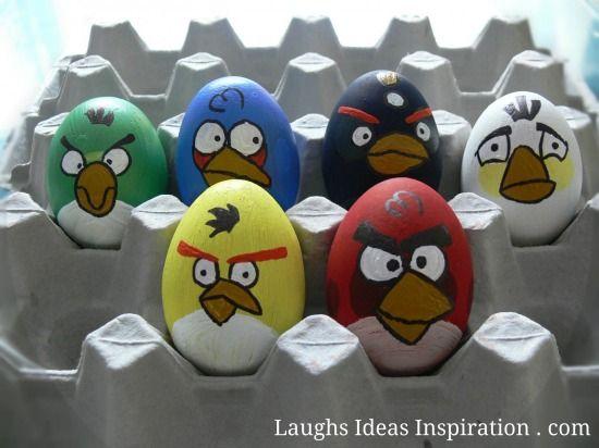 Angry Birds húsvéti tojások