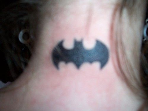 Batman Bats Logo Tattoos Batman Bat Symbol Tattoo on