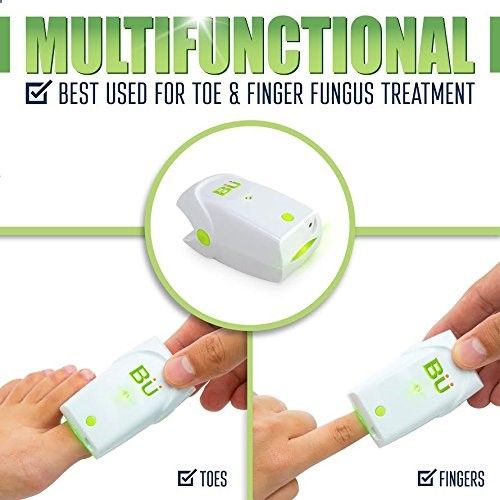 Amazon.com: Nail Fungus Treatment Laser,Toenail Fungus Treatment Revolutionary And Safe Fungus Remover Treatment For Toe And Finger Nails To Use At-Home Plus Free Ebook; Device By BU-Tec: Health & Personal Care