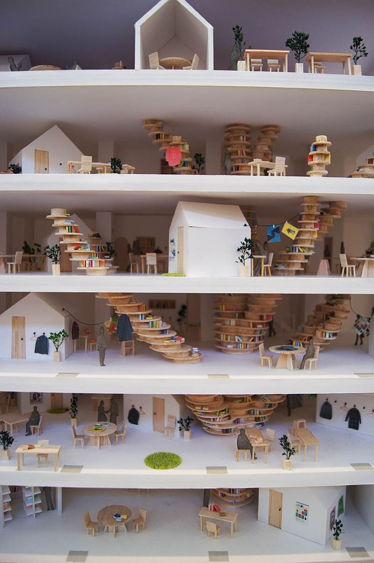 Architecture Graduation Project, Kyota Seika University 2012: Love this! via bitpunk.net #Architecture #Kyota_Seika_University #Model_House #bitpunk