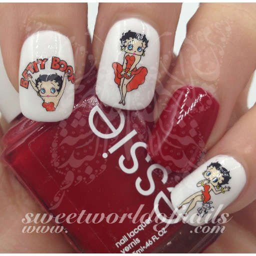 Betty Boop Nails: 751 Best Nude Nails Images On Pinterest