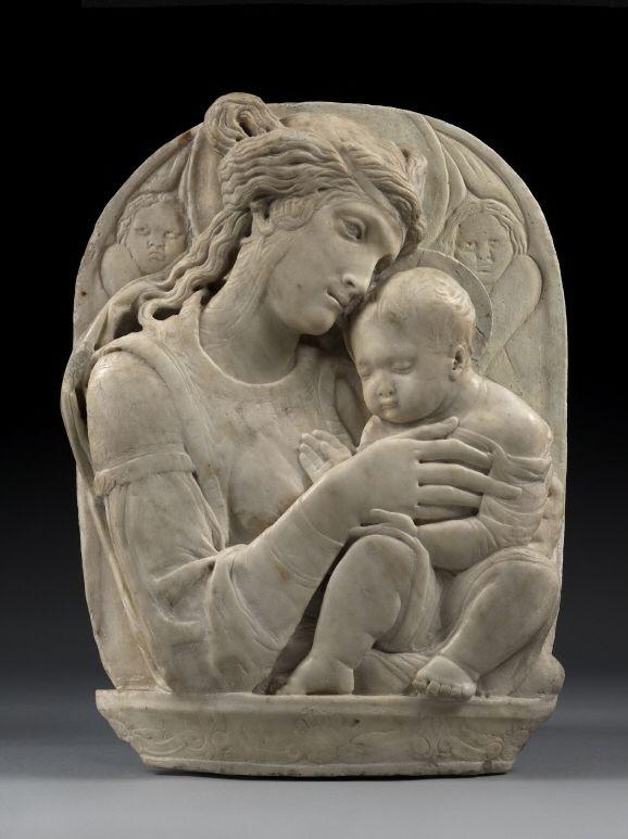 Donatello | Madonna. Mid-15th century. Stylistic origin: Padua. © Foto: Skulpturensammlung und Museum für Byzantinische Kunst der Staatlichen Museen zu Berlin - Preußischer Kulturbesitz