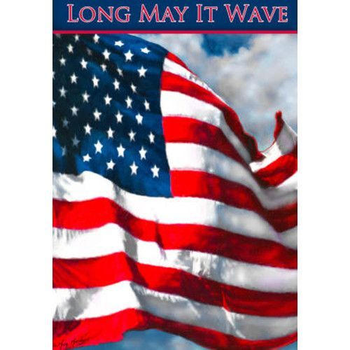 Long May It Wave House Flag