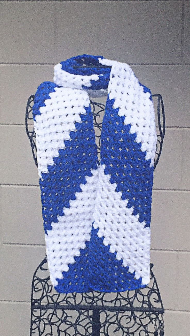 A personal favorite from my Etsy shop https://www.etsy.com/listing/247001232/uk-wildcats-scarf-colts-football-scarf