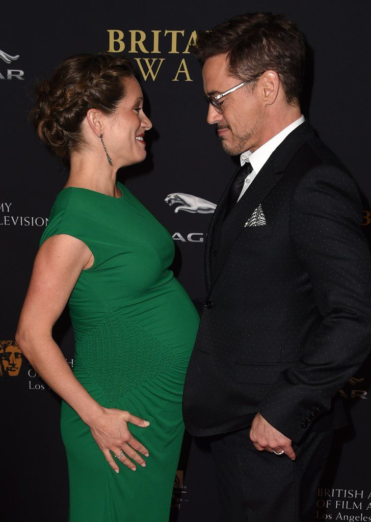 Pin for Later: Emma Watson Steals the Spotlight at the BAFTA Awards, Obviously Susan Downey and Robert Downey Jr.