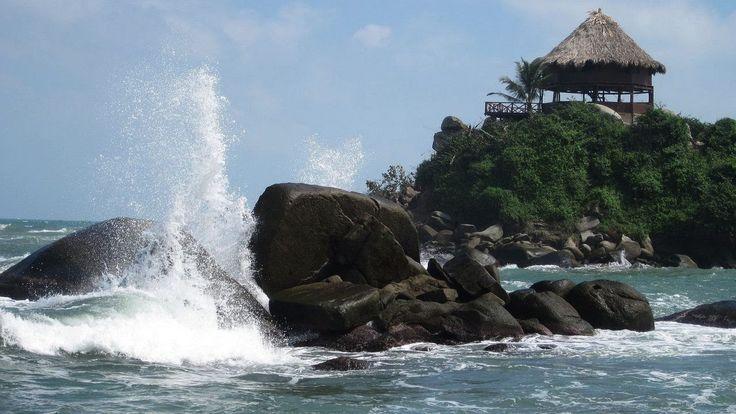 VIDEO | El Cabo Beach | Tayrona National Park, Colombia | #travel #Colombia | Gallery @ https://www.flickr.com/photos/haluzman/albums/72157635926196636