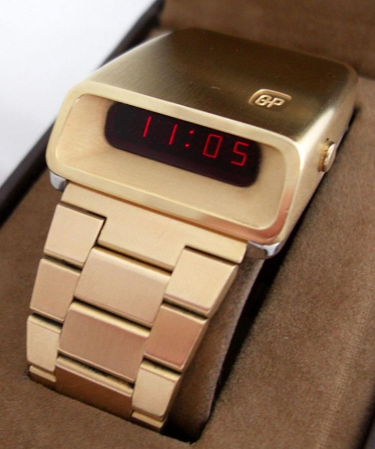 Casquette: the only and ultra rare led watch from Girard Perregaux (1976)