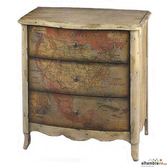Muebles para bano estilo vintage - Muebles estilo vintage ...