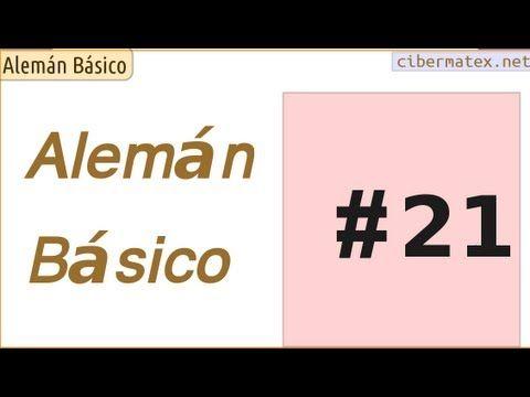 Alemán Básico #21. Ejercicios pronombres interrogativos y diminutivos