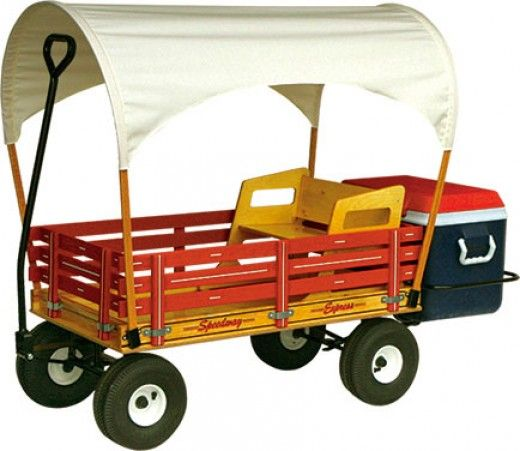 The Ultimate Family Outing Wagon | A Kids Wagon Tricked Out For Family Outings