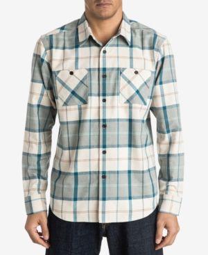 Quiksilver Waterman Men's Day Hike Plaid Shirt -
