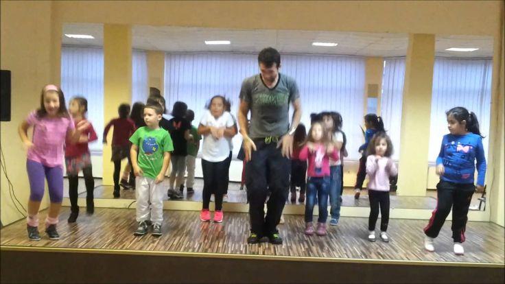 Zumba Kids cu Andrei - Hamster Dance break time