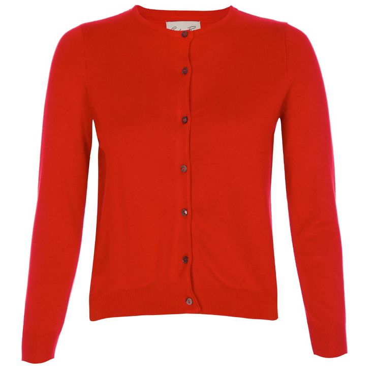 'Bouvier' Red Cardigan