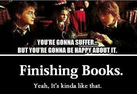 Ron was right in the end >>>>>>>>> having just finished reading traitor to the throne I can confirm that this is exactly what it feels like :-)